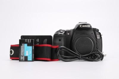 93新二手Canon佳能 60D 单机 中端单反相机(T000592)成