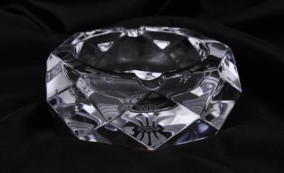 【大VIP限定】克罗心水晶玻璃烟灰缸#06230