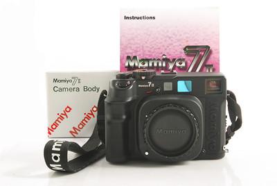 【全新】玛米亚 7 II Camera Body 黑色相机机身 #HK7406X