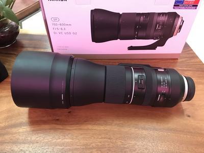 腾龙 SP 150-600mm f/5-6.3 Di VC USD G2 尼康口