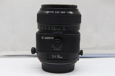 93新二手 Canon佳能 90/2.8 TS-E 移轴镜头(SZ00726)京