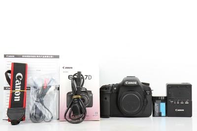96新二手 Canon佳能 7D 单机 中端单反相机(B97207)京
