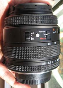 尼康口康泰时蔡司Contax zeiss  T* N 28-80 F3.5-5.6手动镜头