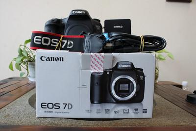 92新二手 Canon佳能 7D 单机 中端单反相机(W05396)武
