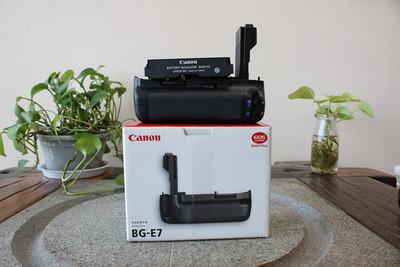 98新二手 Canon佳能 BG-E7 单反手柄 适用于7D(W05390)【武】
