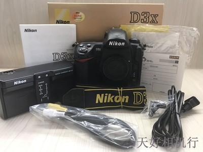《天津天好》相机行 98新 行货全套 尼康D3X 机身