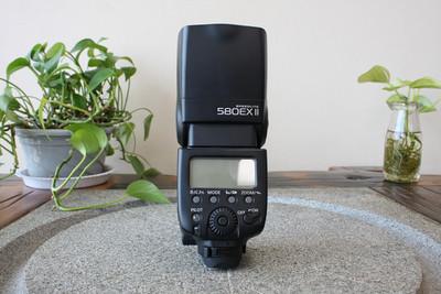 96新二手Canon佳能 580EXII 二代闪光灯适用5D25D3 (W05389)武