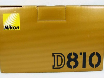 伟德betvictor_包装齐全的尼康 D810