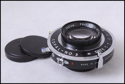 富士 富士龙FUJINON210/4.5 4X5 5X7 大画幅座机镜头