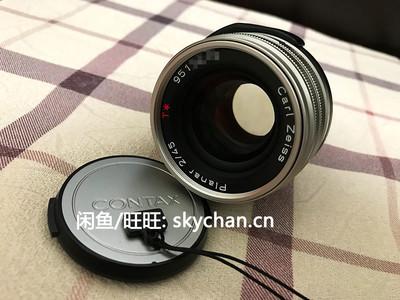50mm最优选 极美品近全新 G45 Contax G 蔡司T* 45mm F2 自动对焦