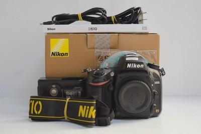 95新二手Nikon尼康 D610 单机 快门28825次(T000587)津