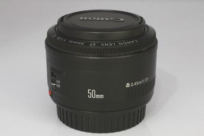 【全画幅标准定焦镜头】佳能 EF 50/1.8 II(NO:1397)