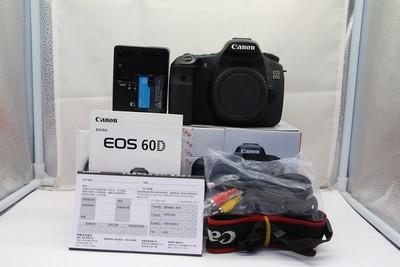95新二手Canon佳能 60D 单机 中端单反相机(SZ00740)深