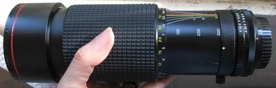 nikon尼康口图丽Tokina AT-X SD 100-300 f4长焦手动红圈镜头1758
