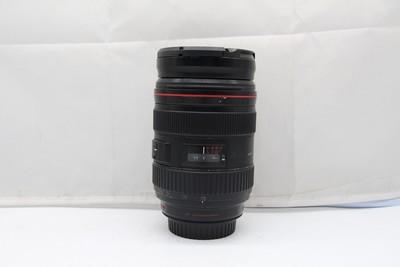80新二手Canon佳能 24-70/2.8 L USM一代红圈镜头(SZ00745)深