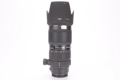 90新适马APO 70-200/2.8 II 小黑四代镜头 索尼A口(T000617)津