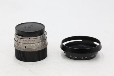 【情迷海印店】徕卡Leica M 35/ 1.4 圣光钛版 (NO:3600153)