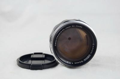 伟德国际1946官网【注册有礼】_佳能LTM 50 1.2 L39 螺口镜头 极美品好成色