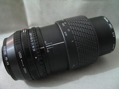 适马 SIGMA FD 50 2.8 MACRO 1:1 微距镜头+富士FX转接环+52MMUV