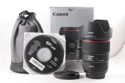 99/佳能 EF 35mm f/1.4L USM II 二代 极新净(全套包装)