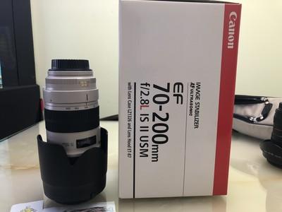 自用国行正品佳能 EF 70-200mm f/2.8L IS II USM