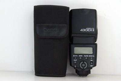 95新二手 Canon佳能 430EX II 闪光灯 二代(CD00203)成