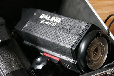 柏灵BL-400ST专业影室闪光灯摄3套及全套室内摄影设备