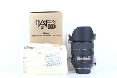 96新二手NiKON尼康 24-120/3.5-5.6 G VR 变焦镜头(B97251)京