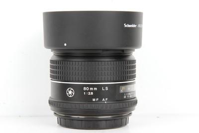 96新二手Schneider施耐德 80/2.8 LS定焦镜头(B97252)京