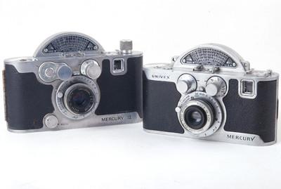 【美品】水星I代 II代 双机套装 Model CC CX 半格相机#jp19992X