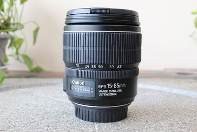 95新二手Canon佳能 15-85/3.5-5.6 IS USM变焦镜头(W05374)武