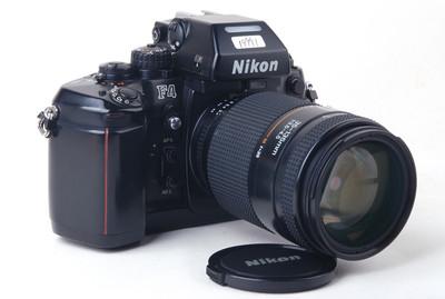 【美品】尼康F4带AF 35-135/3.5-4.5镜头胶片套机#jp19991X