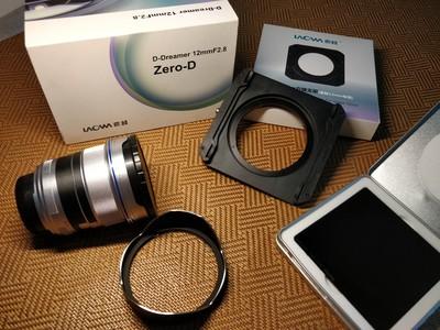 尼康口老蛙12mm F2.8广角镜头+原厂专用滤镜架+海大ND1000滤镜