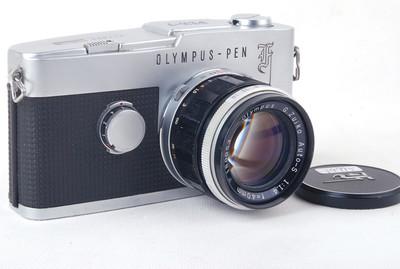 奥林巴斯Pen-F银色机身带G.Zuiko Auto-S 40/1.4镜头#jp19995X