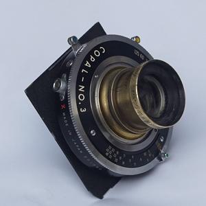 大画幅 Carl Zeiss Jena Anastigmat 205mm/8