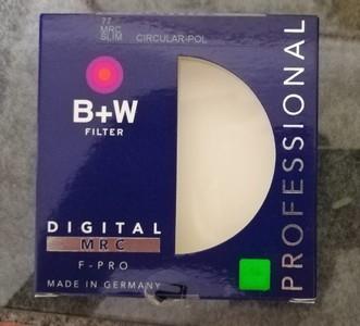 B+W 77mm SLIM-MRC-CPL超薄多膜偏光镜