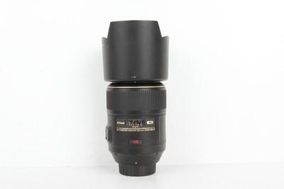 95新二手Nikon尼康 105/2.8 G ED VR 百微镜头(B97280)京