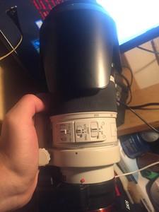 索尼70-200f2.8g带索尼LA EA4转接环