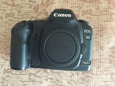 学生转让佳能 5D Mark II单反相机和24-70 F2.8 II 2代镜头