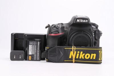 96新二手Nikon尼康 D800E 单机 快门25000次(T000644)津