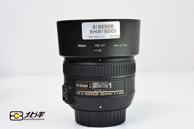 99新 尼康 AF-S 50/1.4 G(BH06190003)【已成交】