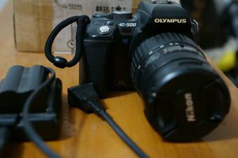 奥林巴斯 E500+14-55镜头