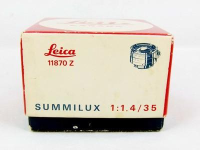 华瑞摄影器材-徕卡Leitz Summilux 35/1.4 黑色钢嘴