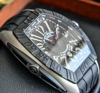 【全新】法兰克穆勒9900 SC DT GPG Titan Rubber腕表#FM711