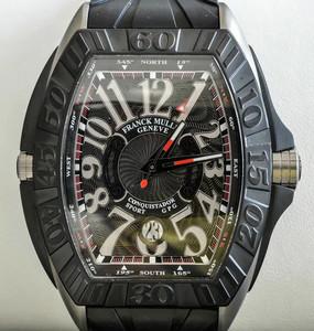 【全新】法兰克穆勒8900 SC DT GPG TT NR TT Rubber腕表#FM707