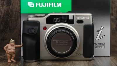 富士 GA645Zi 专业中画幅 自动对焦 箱说全 极美品