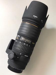 非常新的 适马小黑 APO 70-200mm f/2.8 EX  HSM【适马卡口】