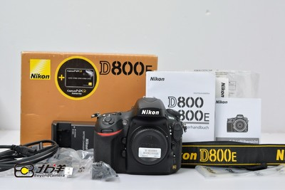 99新 尼康 D800E带包装(BH06230005)