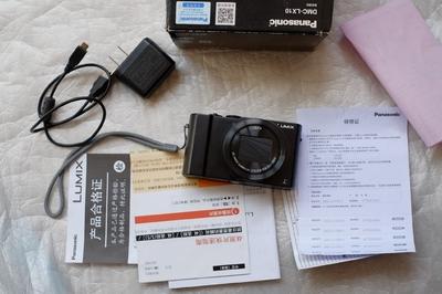 松下 LX10 黑色卡片数码相机 1英寸底 徕卡镜头 五轴防抖 WIFI