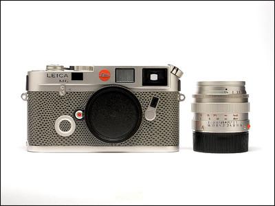 新品展示品 徕卡 Leica M6 Platinum + M 50/1.4 白金版限量版!